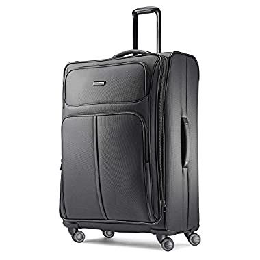 Samsonite Leverage LTE Expandable Softside Checked Luggage with Spinner Wheels, 29 Inch, Charcoal