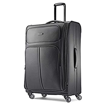 Samsonite Leverage LTE Softside Expandable Luggage with Spinner Wheels Charcoal Checked-Large 29-Inch