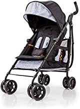 Summer 3Dtote Convenience Stroller - Lightweight Stroller with Extra Storage Basket, Rear Storage Extension, Diaper Hooks, Cup Holders and More - Compact Fold for Storage and On-the-Go