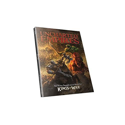 Mantic Games 5060208868807 - Kings of War - Uncharted Empires - Spiele