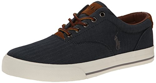 Polo Ralph Lauren Herren Vaughn Fashion Sneaker, Blau (denim), 41 EU