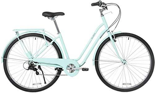 WOF 26' Ciudad del ocio con el ciclismo urbano de cercanías bicicletas 6 holandesa velocidad bici del estilo retro, for hombre Mujeres Ciudad de bicicletas for adultos Urbana Ligera al aire libre Ciud