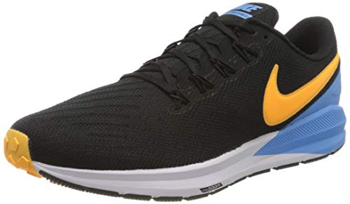 Nike Air Zoom Structure 22 (AA1636) black/university blue/white/laser orange