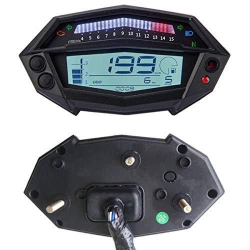 Indicador del Engranaje del velocímetro del tacómetro de Digitaces de la Motocicleta para la Pieza de Kawasaki Z1000