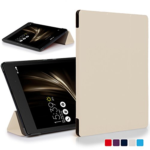 Forefront Hülles® ASUS ZenPad 3 8.0 ZT581KL Hülle Schutzhülle Tasche Smart Hülle Cover Stand - Ultra Dünn & Leicht mit R&um-Geräteschutz & intelligente Auto Schlaf/Wach Funktion (WEIß)