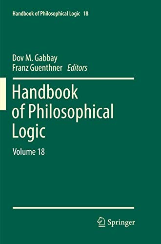 Handbook of Philosophical Logic: Volume 18