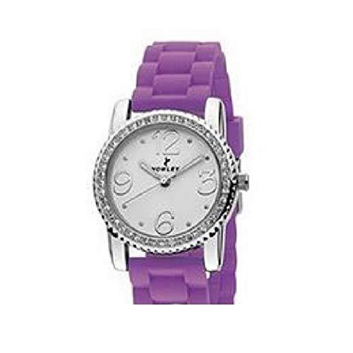 Reloj NOWLEY analogico señora Correa de Silicona Lila 8-5235-0-12