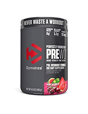 Dymatize Pre Workout Supplement Powder, Maximize Energy & Strength