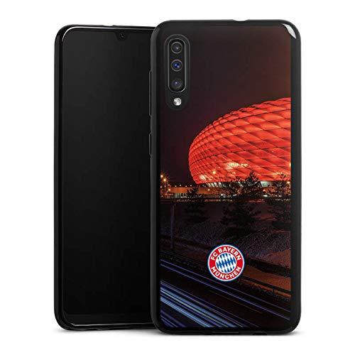 DeinDesign Silikon Hülle kompatibel mit Samsung Galaxy A50 Case Schutzhülle FCB Stadion FC Bayern München