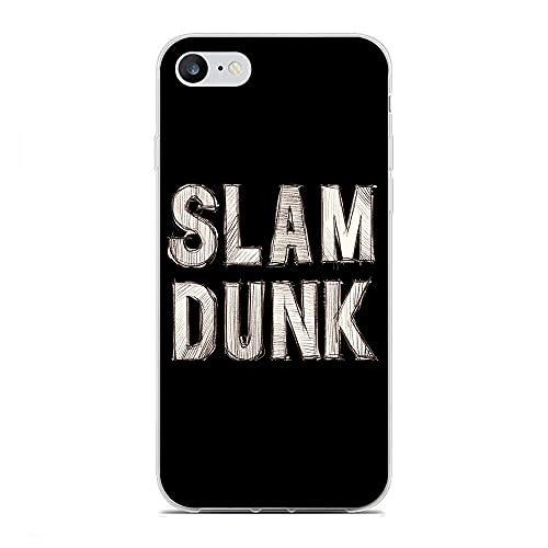 BFDRSGES Carcasa transparente de TPU para iPhone 6/6S Slam Dunk-Takeishi Junior High 0