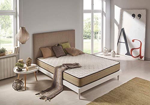 Matris - Colchón Viscoelástico Bamboo Fresh Confort - 140 x 190 x 20 - Todas Las Medidas