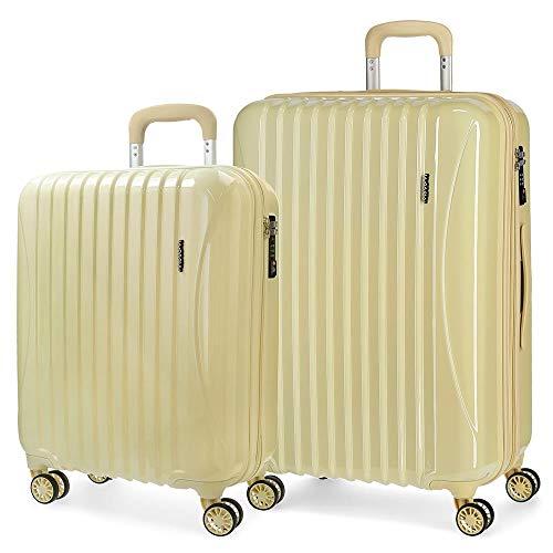Juego de maletas rígidas 55-67cm Movom Trafalgar Amarillo