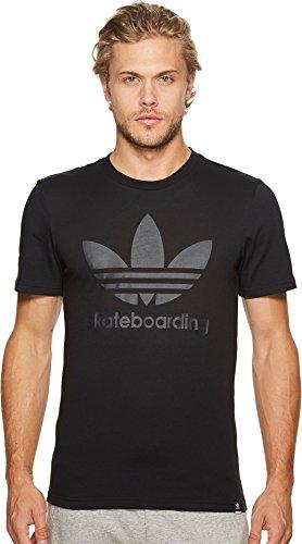 adidas Skateboarding Men's Clima 3.0 Tee Black T-Shirt
