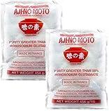 Ajinomoto - Insaporitole a Base di Glutammato Monosodico - Pack 2 x 454 grs