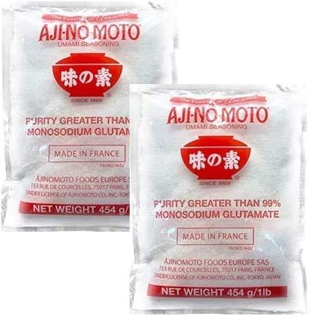Ajinomoto - Insaporitole a base di glutammato monosodico - Confezione da 2 x 454 g