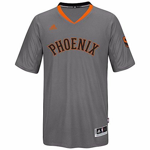 adidas Phoenix Suns NBA Grey Swingman Jersey for Men (2XL)