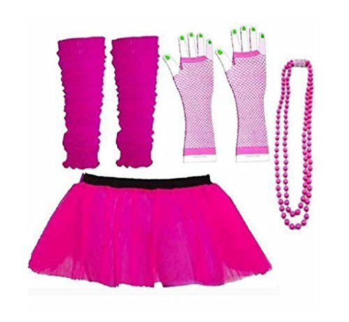 Rush Dance 80s Skirt Set - Tutu with Accessories.