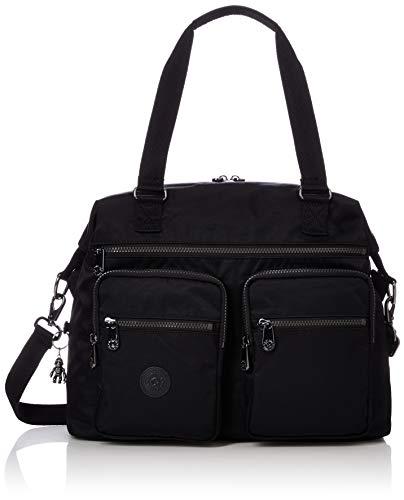 Kipling NEW EASTO, Freizeittasche und Sportbekleidung, Damen, Schwarz (RICH Black), einzigartig