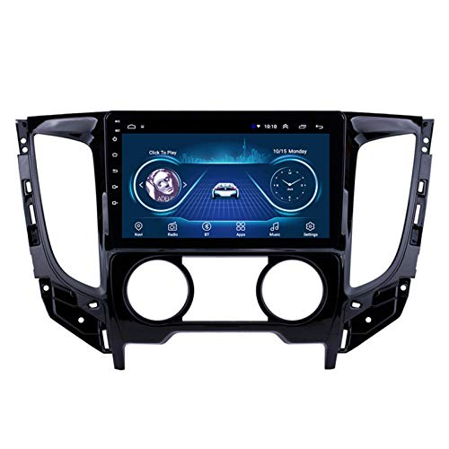 Android 10.0 8 Core Car stereo radio de navegación por satélite FM AM Autoradio 2.5D Pantalla táctil para Mitsubishi TRITON(MT)2015 Navegador GPS Bluetooth WIFI G(Size:WIFI 1G+16G,Color:Manual)