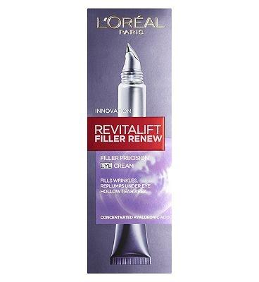 L'Oreal Revitalift Filler Renew Augencreme, 15 ml