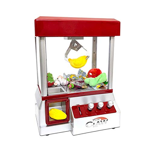 Electronic Arcade Claw Machine Mini Candy Prize Dispenser Game With Sound