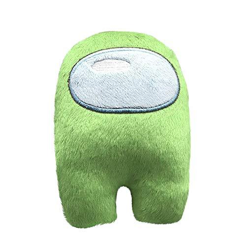 Among Us Fanartikel Plüsch Spielzeug, Crewmate Plushie, Plüsch Unter Uns Kuscheltier Plüschtier-Spielpuppe, Niedliches Puppenplüsch Geschenk Für Kinder Erwachsene (Grün)