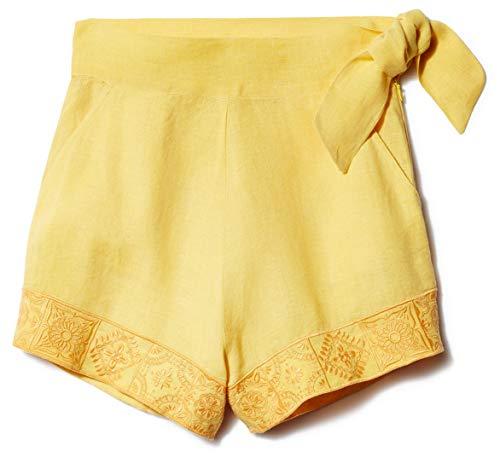 Carolina K Women's Sandy Shorts, Sunset Yellow, Medium