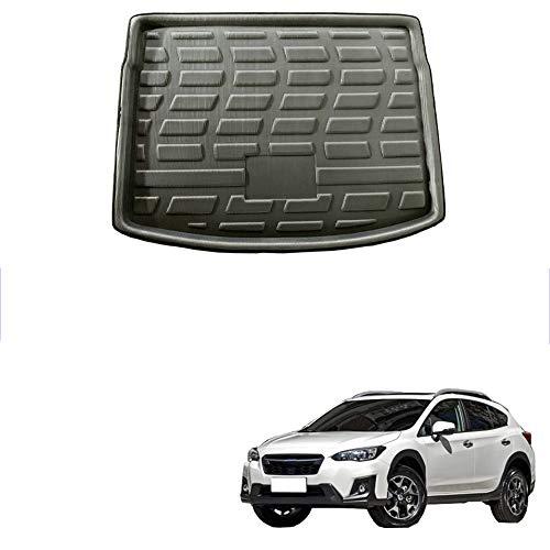 WGCCGW CocheAuto CocheRear Boot Cochego Liner Trunk Floor CochePets Tray Pad Mat Esteras, para Subaru XV Crosstrek Impreza Hatchback 2018 2019