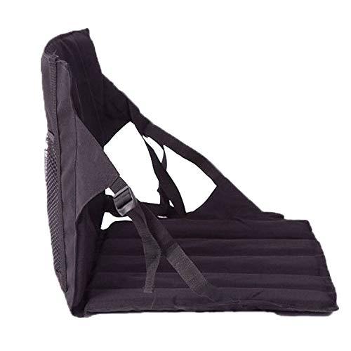 Generic Cojín de asiento – Cojín multifuncional para coxis, con respaldo plegable, silla plegable para el tiempo libre, para la playa