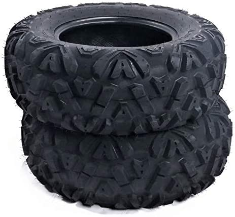 TRIBLE SIX Set of 4 ATV UTV Tires