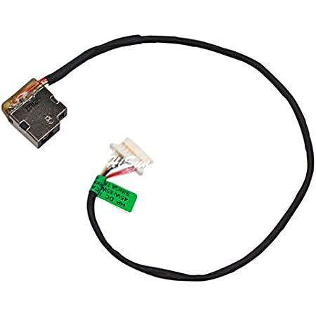 Laptop AC DC Power Jack Plug in Socket Connector with Cable Harness for HP Pavilion 15-BA037AU 15-BA037cl 15-BA037NS 15-BA037UR 15-BA038NS 15-BA039AU 15-BA039NS 15-BA039UR 15-BA040CA 15-BA040NF