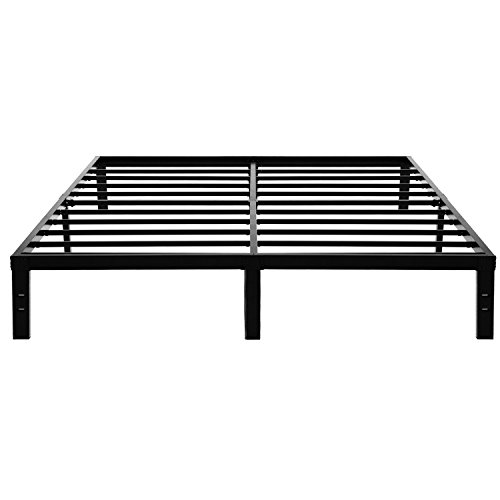45MinST 14 Inch Platform Bed Frame/Easy Assembly Mattress...