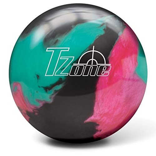Brunswick T-Zone Glow PRE-DRILLED Bowling Ball- Razzle Dazzle 8lbs