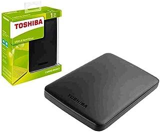 SSO) Disco Rigido Esterno per Toshiba Canvio Basics / 1 TB / 2.5 / USB 3.0 / Nero Opaco