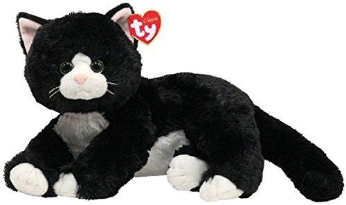Ty 10037 - Shadow Katze schwarz - 33 cm