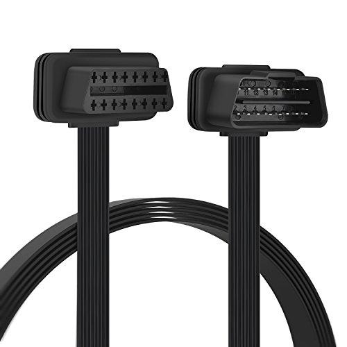OBD2 16 Pin Verlängerung Kabel - Stecker auf Buchse Verlängerungskabel Diagnostizieren 30cm
