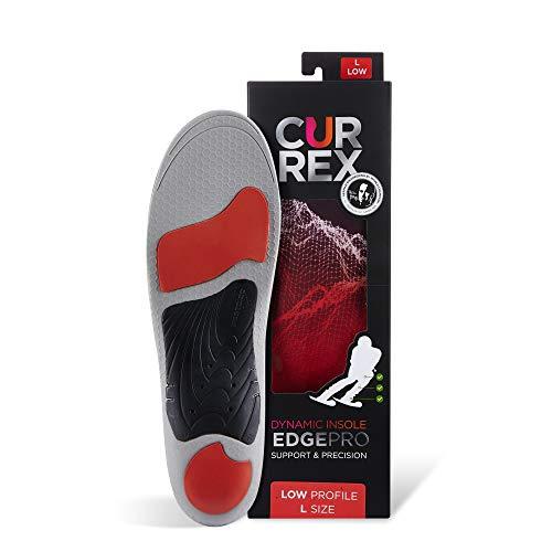 Currex EdgePro zool – je nieuwe dimensie van de carving. Dynamische performance inlegzool voor skiën, langloop of snowboard.