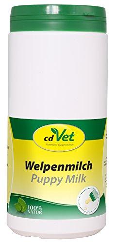 cdVet Naturprodukte Welpenmilch 750 g - Hund, Katze, Nager - Milchaustausch-Ergänzungsgfuttermittel - Ersatzmilch - Anteil an hochwertigem Kolostrum - stabil bleibende Verdauung - Abwehrkomponenten -