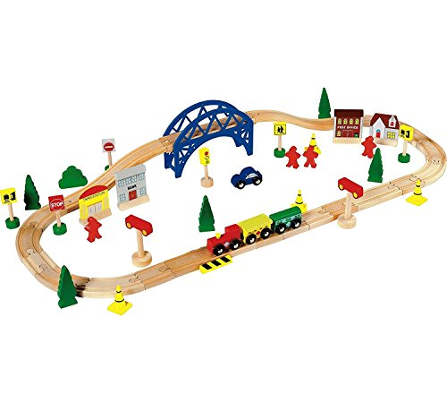 Chad Valley 60 Piece Train Set. [Toy]