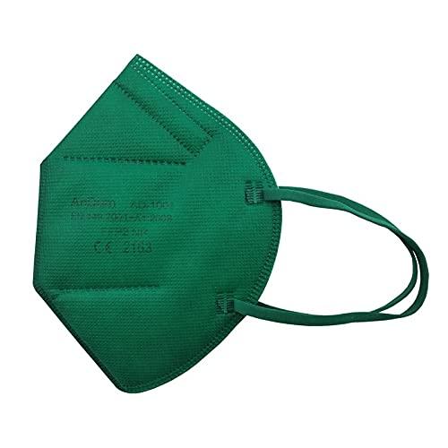 Null Karat 5 Stück FFP2 Masken Atemschutzmasken bunt farbig viele...