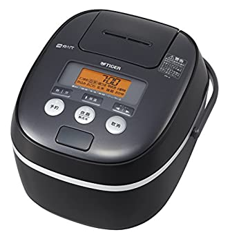TIGER IH Rice Cooker   TAKITATE  freshly cooked     1.0L Cooked  JPE-A100-K  Black 【Japan Domestic genuine products】