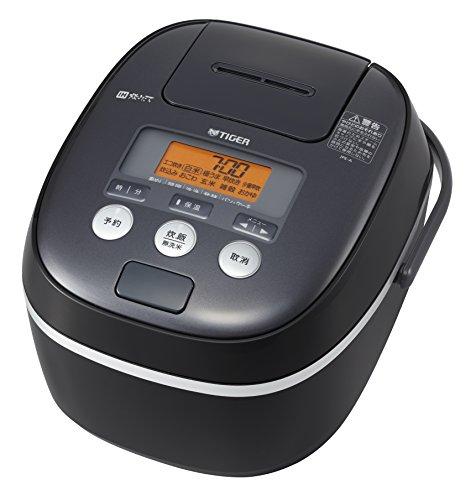 タイガー 炊飯器 5.5合 IH 土鍋コーティング 時短早炊き機能 ブラック 炊きたて JPE-A100-K