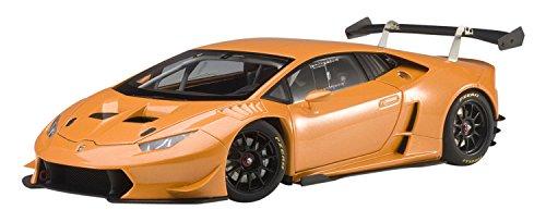 AUTOart–Miniatura de Coche Lamborghini Huracan Super Trofeo 2015(Escala 1/18, 81558, Orange Borealis