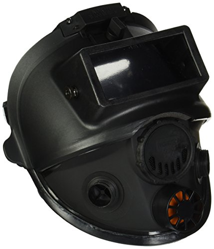 Honeywell North 7600 Series Niosh-Approved Full Facepiece Silicone Respirator With Welding Adaptor, Med/Large (760008AW)