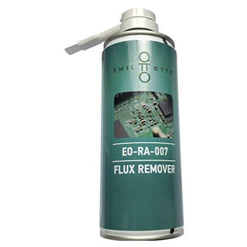 Flux-Remover/Platinenreiniger EO-RA-007 mit Bürste (Dose mit 400 ml Inhalt), optimale Reinigung, ideale rückstandsfreie Verdunstung, angenehmer Geruch