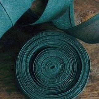 Cinta al bies, 25 mm, 100% algodón, Verde bosque., 5mtrs: Amazon ...