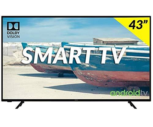 """Televisor Hitachi 43HAK5751 Televisor 43"""" LED HDR 4K Smart Android TV 1200BPI HDMI USB"""