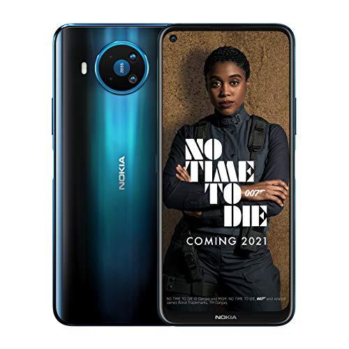 Nokia 8.3 5G 6.81 Inch Android UK SIM Free Smartphone with 5G Connectivity – 6 GB RAM and 64 GB Storage (Single SIM) – Polar Night