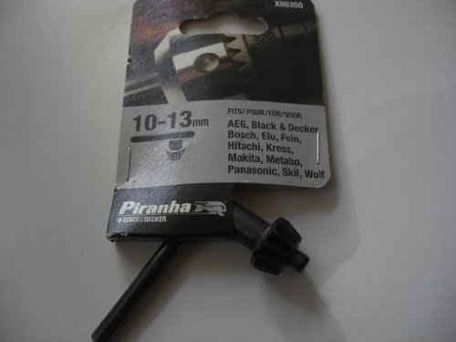 Black+Decker X66350-QZ - Llave portabrocas ø 10-13 mm.