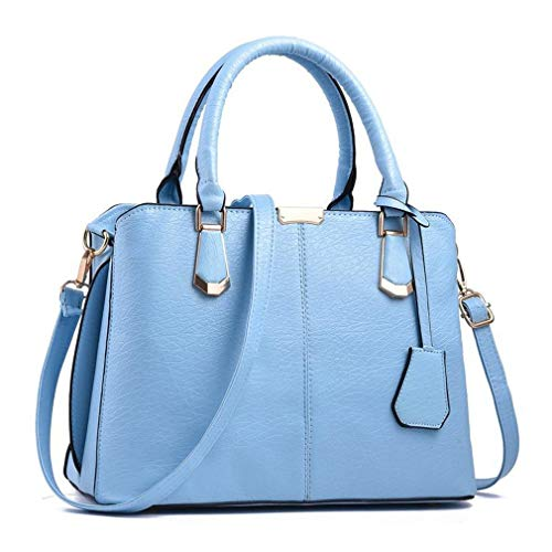 【CLASSIC DESIGN AND ELEGANT STYLE】- Use high quality artificial leather(environmentally-friendly synthetic leather, not genuine leather). Imitation elephant skin texture design, unique style reflects your taste. The top handle of this bag is solid an...